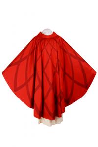 Casula CSER8 Ellissi Rossa - Seta Foderata