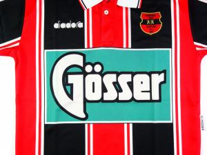 1994-95 Budapest Honved FC Maglia Home L