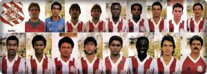 1988 Bangu Atlético Clube Maglia Home  #10 MATCH WORN