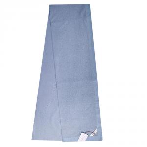 Granfoulard cloth interior sofa pillow Borbonese OPLA' 270x290 cm blue