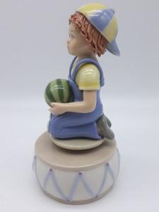 Carillon bimbo con pallone, vendita on line | GIOIELLERIA BRUNI Imperia