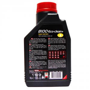 OLIO MOTORE MOTUL ECO-CLEAN+ C1 SAE 5W30 100% SINTETICO 1L