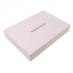 BORBONESE Home set 3 strofinacci canovacci 50x70 AVENUE in scatola