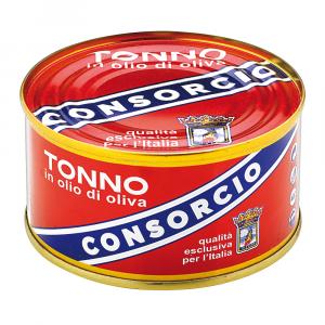 CONSORCIO 12 Confezioni tonno sottolio consorcio 200gr