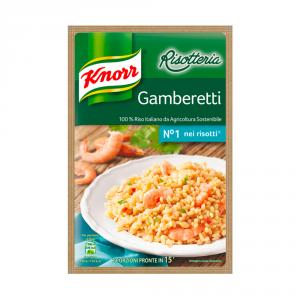 KNORR 15 Paquetes Risotto Listo Liofilizado Ai Camarones 175 gr
