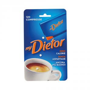 DIETOR 10 Confezioni dolcificanti 6gr