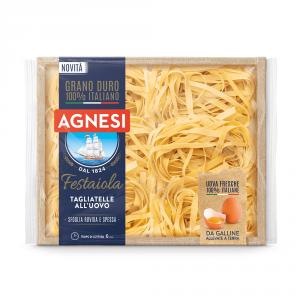 AGNESI 12 Confezioni pasta uovo tagliatelle festaiola n224 250gr