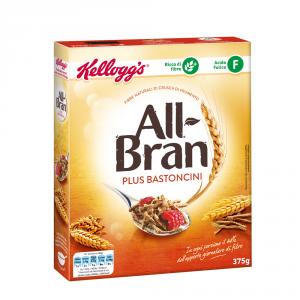 KELLOGGS 6 Confezioni cereali per adulti all bran classic