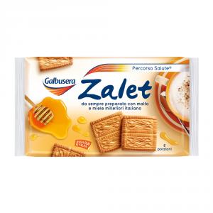 GALBUSERA 7 Confezioni biscotti frollini zalet 500gr senza olio di palma