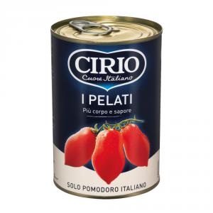 CIRIO 24 Confezioni pomodori pelati 400gr barattolo