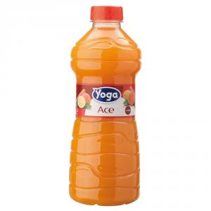 YOGA 6 Confezioni nettari di frutta pet ace succo 1000ml