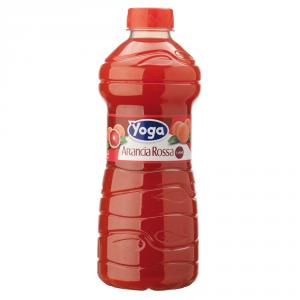 YOGA 6 Confezioni nettari di frutta succo pet arancia rossa 1000ml