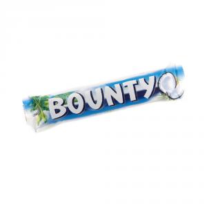 BOUNTY 24 Confezioni snack cioccolato merendina singola 57gr al cocco