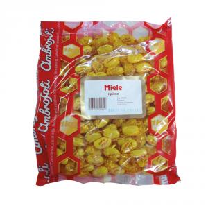 AMBROSOLI Caramelle in busta con zucchero miele 1000gr