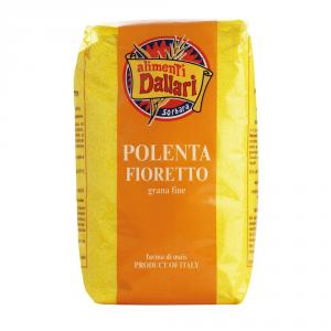 DALLARI 10 Confezioni farina di mais polenta pronta fioretto 1kg