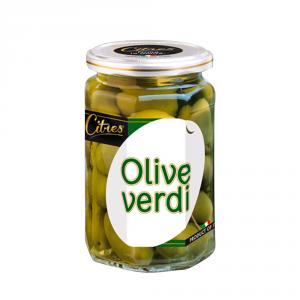 CITRES 12 Confezioni olive confezionate verdi intere 314ml