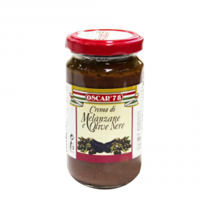 OSCAR 78 12 Confezioni crema spalmabile vegetale melanzane olive oscar 78 170g