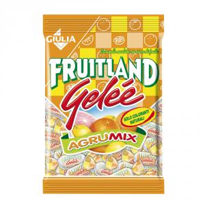 FRUITLAND 12 Confezioni caramelle gelee in busta gelee agrumi