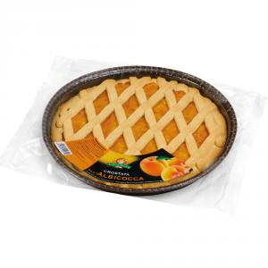 GECCHELE 10 Confezioni torte pronte preparati crostata allalbicocca 350gr