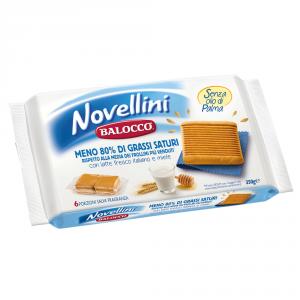 BALOCCO 10 Confezioni biscotti frollini novellini 350gr