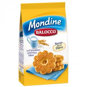 BALOCCO 12 Confezioni biscotti frollini mondine 350gr