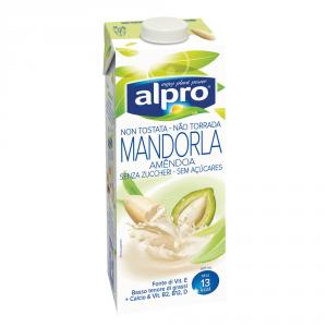 ALPRO 8 Packungen Ersatz für Milch Trinken Mandel 1l