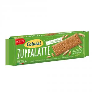 COLUSSI 24 Confezioni biscotti secchi zuppalatte con 6 cereali 280gr
