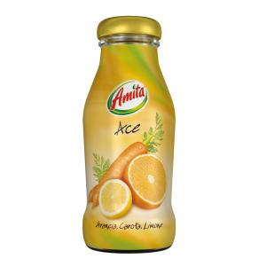 AMITA 24 Confezioni bevanda frutta 30-99% succo ace 200ml bottiglia