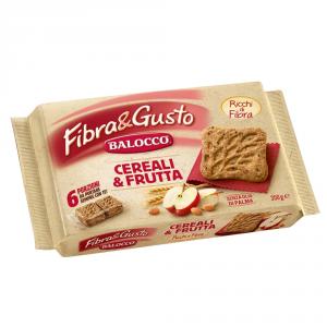 BALOCCO 10 Confezioni biscotti frollini cereali&frutta 350gr senza olio di palma