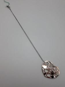 Collana Donna due cuori in argento, vendita on line | GIOIELLERIA BRUNI Imperia