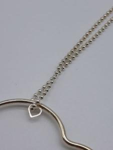 Collana Donna argento con cuore in argento, vendita on line | GIOIELLERIA BRUNI Imperia