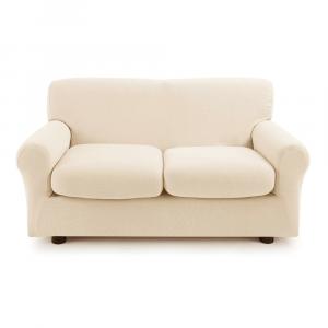 Copridivano 2 posti con 2 cuscini Zucchi Copri divano ZAPPING beige