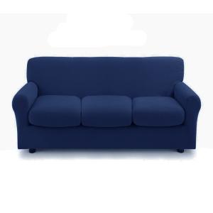 Copridivano 3 posti con 3 cuscini Copri Divano ZAPPING Zucchi blu