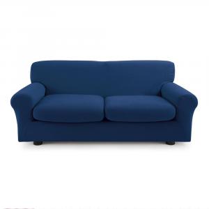 Copridivano 3 posti con 2 cuscini Copri Divano ZAPPING Zucchi Blu