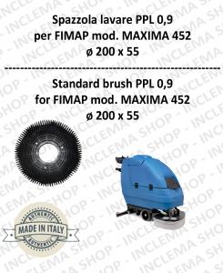 SPAZZOLA LAVARE  per lavapavimenti FIMAP modello MAXIMA 452 PPL 0,9