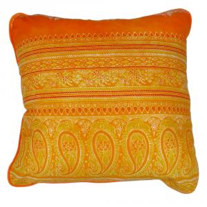 Fodera per cuscino arredo BASSETTI Granfoulard 40x40 cm BRUNELLESCHI 3 arancione