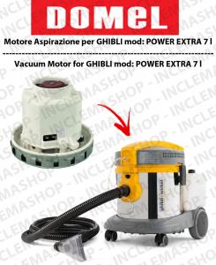 POWER EXTRA 7 l motore aspirazione DOMEL per aspirapolvere GHIBLI