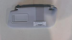 Aletta parasole parabrezza sx usata originale Fiat 500L serie dal 2012>