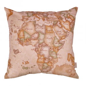 Alviero Martini Pillow cover PANGEA WITHOUT PADDING