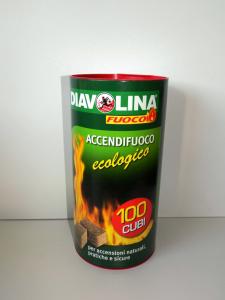 Accendifuoco 100 CUBI Ecologico