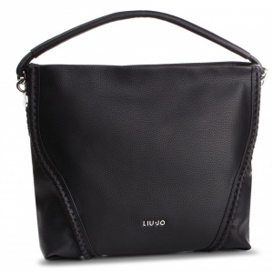 Shoulder bag Liu Jo APPIA A19012 E0086 NERO