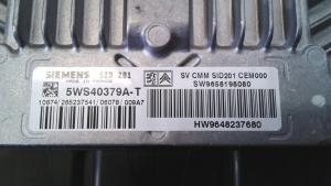 Centralina iniezione usata originale Peugeot 407 serie dal 2004 al 2012 2.7 HDI