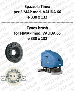 SPAZZOLA in TYNEX per lavapavimenti FIMAP mod. VALIDA 66