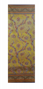 Bassetti Granfoulard furnishing cloth BRAMANTE var.4 shaded ocher - 180x270