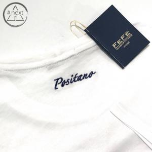 Fefè Glamour - T-shirt cotone e seta - Positano - Bianco - SS 2019