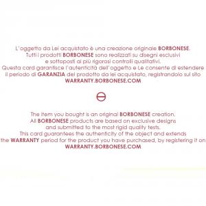 Bademantel aus Frottee mit Kapuze Borbonese BORBONISSIMA Karamell