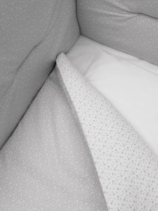 Lettino Mini coll. stellina bianco grigio Erbesi