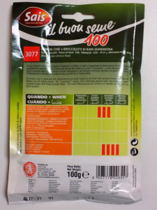 Cima di rapa Quarantina gr.100 Sais