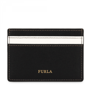 Credits card holder Furla BABYLON 1006896 ONYX+PETALO