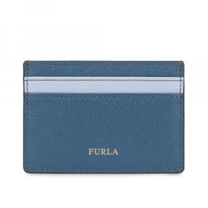 Credits card holder Furla BABYLON 1006897 COLOR PIOMBO f+VIOLETTA f